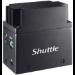 Shuttle EDGE EN01J3 LPDDR4-SDRAM J3355 Intel® Celeron® 4 GB 64 GB eMMC Mini PC Black