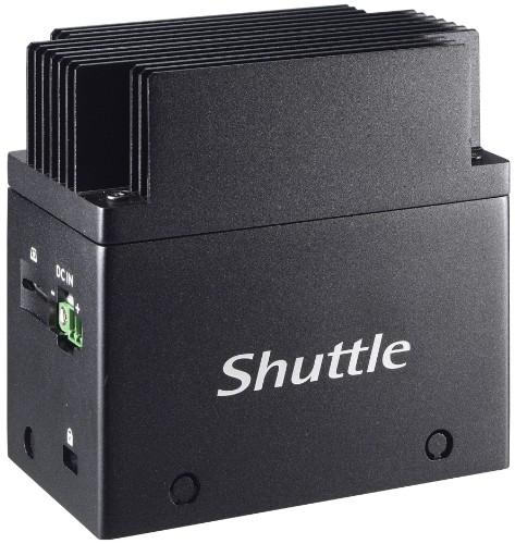 Shuttle EDGE EN01J3 J3355 Intel® Celeron® 4 GB LPDDR4-SDRAM 64 GB eMMC Mini PC Black