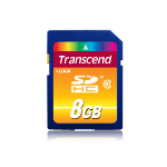 Transcend TS8GSDHC10 8GB SDHC Class 10 memory card