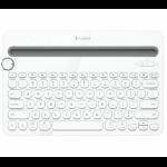 Logitech K480 Bluetooth Blanco teclado para móvil dir