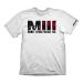 MAFIA III Men's Logo & Family Tagline T-Shirt, Medium, White (GE6085M)
