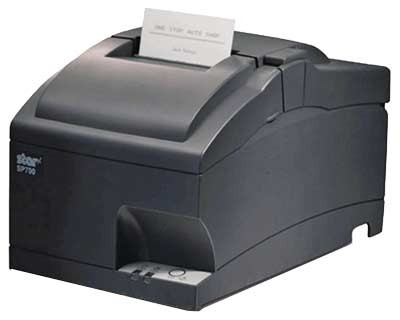 Hybrid Thermal / Matrix Printer Sp712md Uk Grey High Speed Clam-shell 9pin Tear Bear Serial