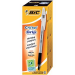 BIC Cristal Grip Stick ballpoint pen Medium Black 20pc(s)