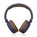 Energy Sistem 444885 auricular y casco Auriculares Diadema Conector de 3,5 mm MicroUSB Bluetooth Azul, Marrón
