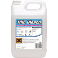 2WORK THIN BLEACH 5 LITRE 206
