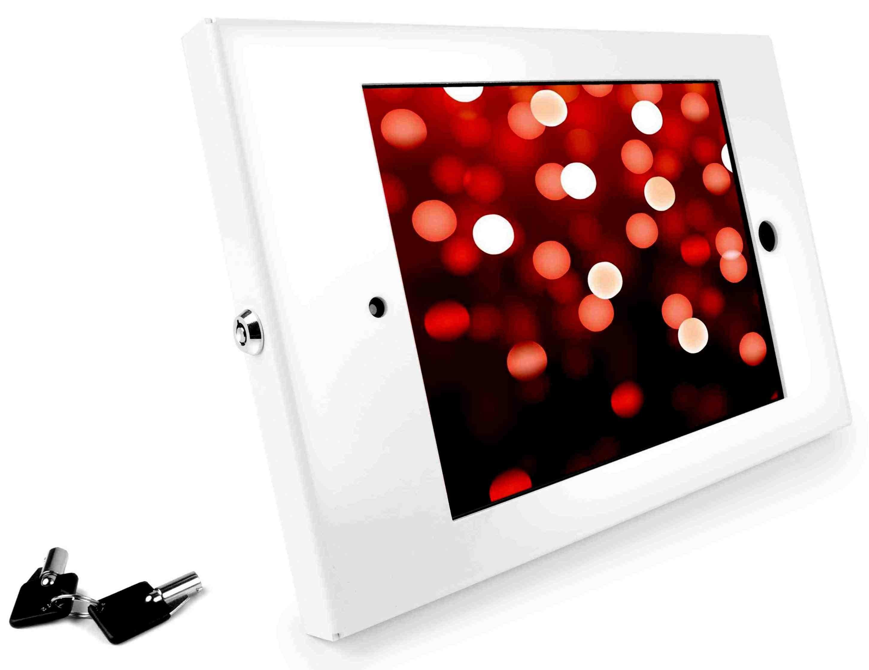 Maclocks Apple iPad 2/3/4 Enclosure Series Wall Mount Case - White - (202ENW)