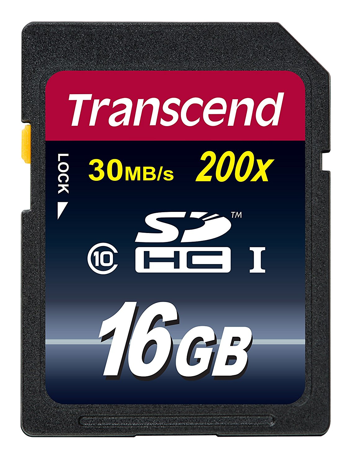 Transcend TS16GSDHC10 16GB SDHC UHS-I Class 10 memory card