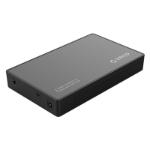 Orico 2.5 / 3.5 inch Type-C Hard Drive Enclosure Black(3588C3), 2.5 / 3.5 inch HDD, Type-C + SATA, 8TB, 12