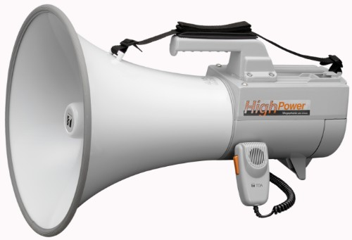 TOA ER-2230W Outdoor 45W Grey, White megaphone
