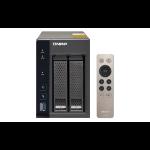 QNAP TS-253A NAS Tower Ethernet LAN Black