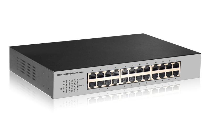 Digitus DN-60021-2 network switch Fast Ethernet (10/100) Grey