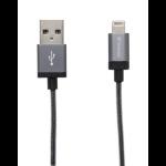 Verbatim 48855 0.3m USB A Lightning Grey mobile phone cable