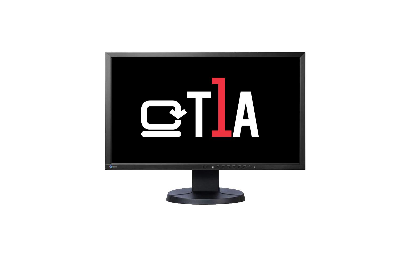 T1A EIZO EV2436W 24IN 1000:1 REFURBISHED DP/VGA/DVI