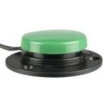 AbleNet 100SPG push-button panel Black,Green