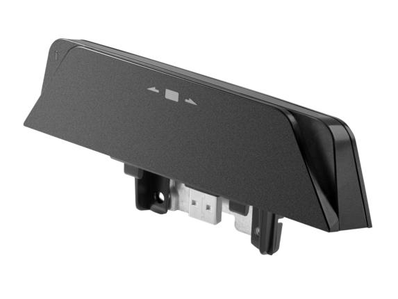HP RP9 magnetic card reader Black