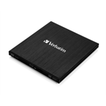 Verbatim External Slimline Blu-Ray RW Black