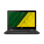 "Acer Spin SP513-51-311K 2GHz i3-6006U 13.3"" 1920 x 1080pixels Touchscreen Black Hybrid (2-in-1)"