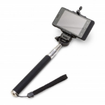 Dicota D31027 selfie stick Black, Stainless steel