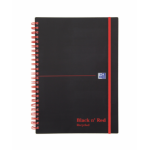 Black n' Red Black n Red A5 Recycled Wirebound PP Cover Notebook PK5