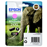 Epson C13T24364010 (24XL) Ink cartridge bright magenta, 500 pages, 10ml