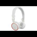 AV Link 100.551UK headphone Circumaural Head-band White