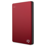 Seagate Backup Plus 2TB Slim Portable Drive, Red