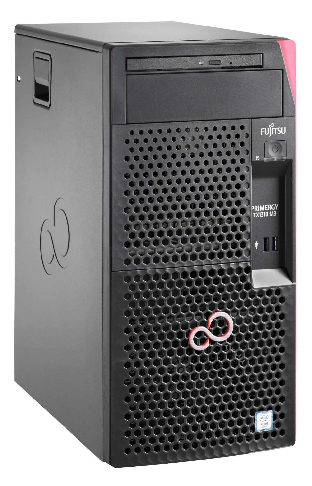 Fujitsu PRIMERGY TX1310 M3 3.3GHz Tower E3-1225V6 Intel® Xeon® E3 v6 250W server