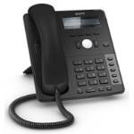 Snom D715 Wired handset 12lines Black IP phone