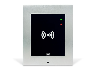 2N Telecommunications Access Unit Basic access control reader Black,White