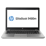 "HP EliteBook Folio 9480m 2GHz i5-4310U 14"" 1600 x 900pixels Silver Notebook"