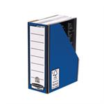 Fellowes Premium Magazine File Blue PK10