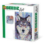 SES Creative Beedz art - Wolf