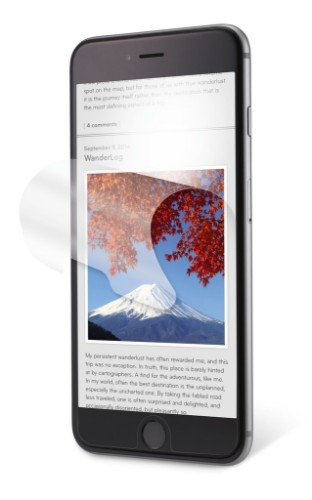 3M Anti-Glare Screen Protector for Apple® iPhone® 6 Plus/6S Plus
