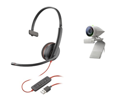 POLY Studio P5 Kit video conferencing system 1 person(s) Personal video conferencing system
