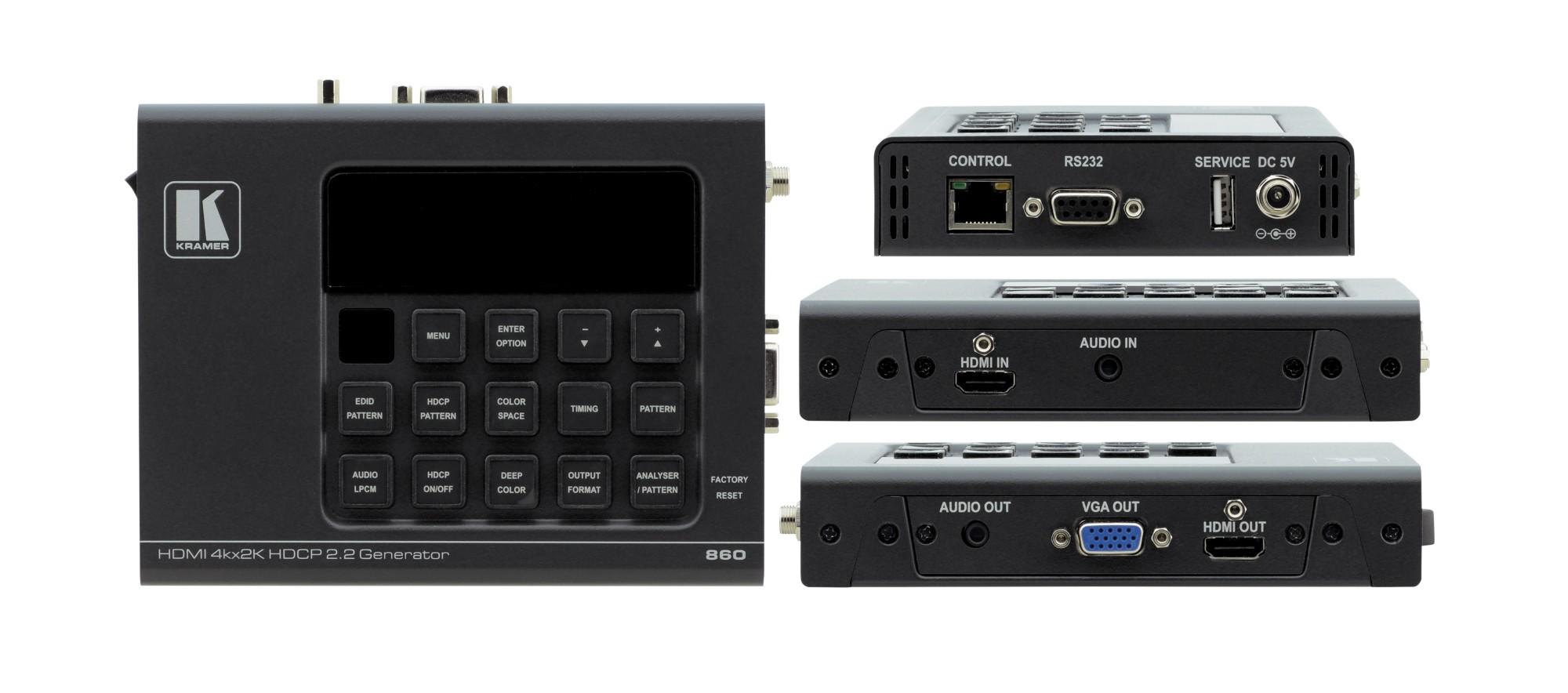 Kramer Electronics 860 AV extender Black