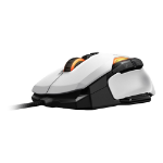 Roccat Kone AIMO RGBA Smart Customisation Gaming Mouse, White (ROC-11-815-WE)
