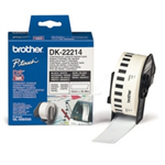 Brother DK-22214 P-Touch Etikettes, 12mm x 30,48m