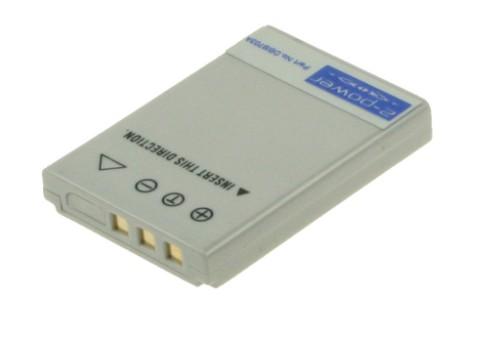 2-Power Digital Camera Battery 3.7v 650mAh