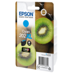 Epson C13T02H24010 (202XL) Ink cartridge cyan, 650 pages, 9ml