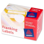 Avery FL01 White addressing label