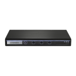 Vertiv SC840-202 Black KVM switch