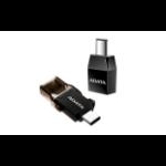 ADATA ACAF3PL-ADP-RBK cable gender changer USB C USB 3.1 A Black