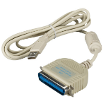 "Black Box IEEE 1284 - USB, 1.8m printer cable 70.9"" (1.8 m) Beige"