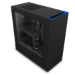 NZXT S340 Full-Tower Black,Blue computer case