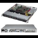 Supermicro CSE-113MFAC2-605CB Rack 600W Black computer case