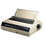 OKI ML395 dot matrix printer 360 x 360 DPI 607 cps