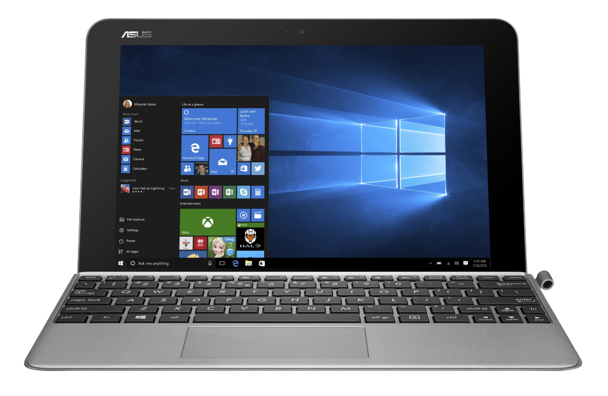 "ASUS Transformer Mini T102HA-GR035T 1.44GHz x5-Z8350 10.1"" 1280 x 800pixels Touchscreen Grey Hybrid (2-in-1)"