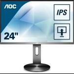 """AOC Pro-line I2490PXQU/BT computer monitor 60,5 cm (23.8"""") Full HD LED Flat Grijs"""