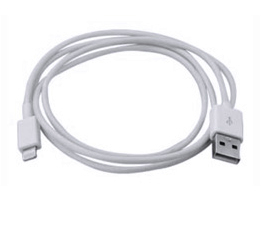 Dynamode USB2.0-Lightning 1 m White