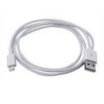 Dynamode USB2.0-Lightning 1m USB A Lightning White mobile phone cable